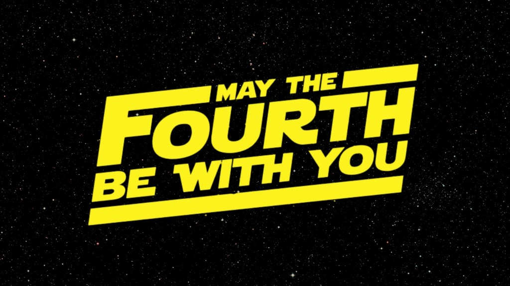 May the 4th be with you 3