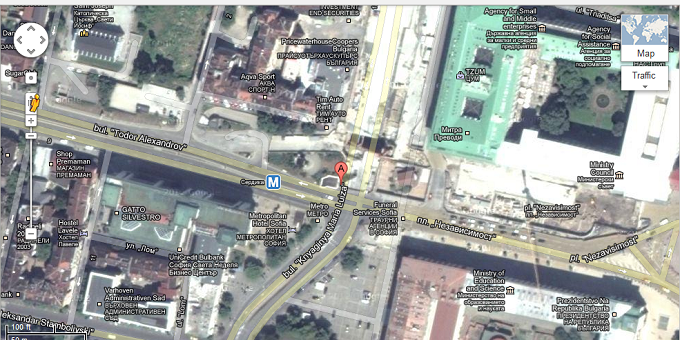 google map sofia