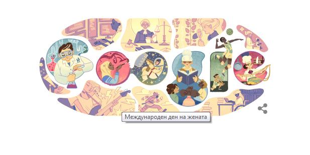 8 mart google doodle 2015