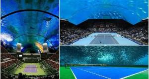 Krysztof Kotala dubai tennis court