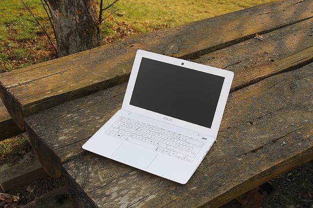 laptop priroda