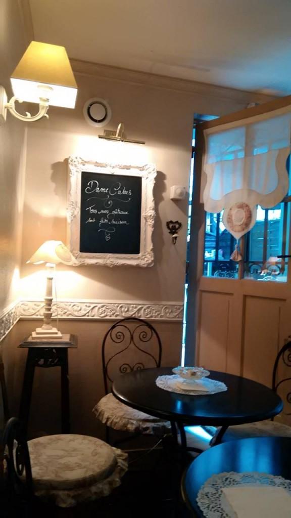Dame Cakes Rouen interior