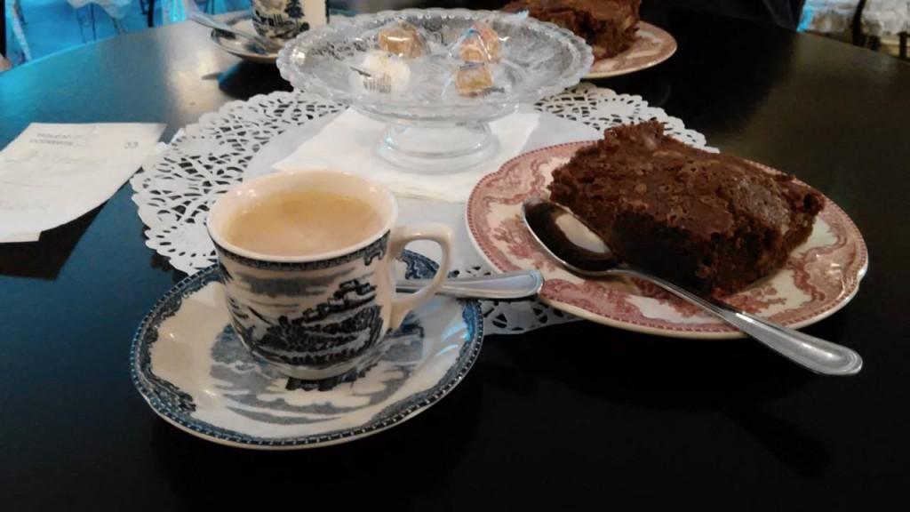 Dame Cakes Rouen cafe i torta
