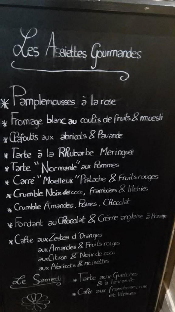 Dame cakes menu obayd