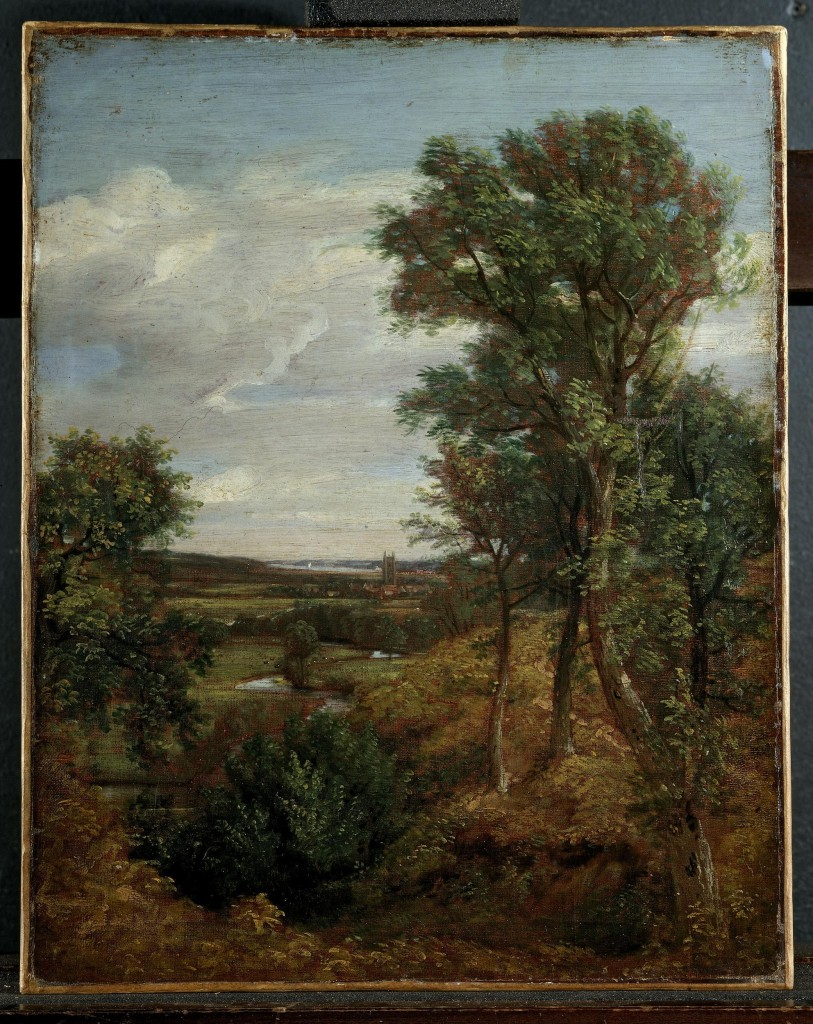 Dedham Vale - John Constable източник: http://collections.vam.ac.uk/