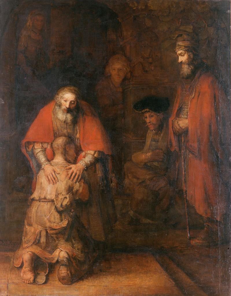 Завръщането на блудния син - Рембранд