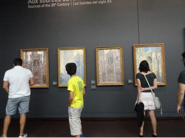 catedrale de rouen musee d'orsay photo 4 kartini turisti