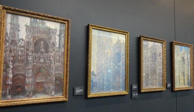 catedrale de rouen musee d'orsay photo 4 kartini