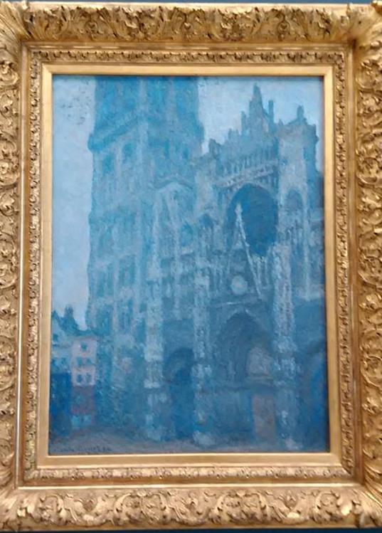 """""""Катедралата в Руан"""" - картина на Клод Моне. Картината е изложена в Музея на изкуствата в Руан."""
