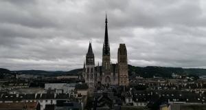 rouen catedrala obsta snimka