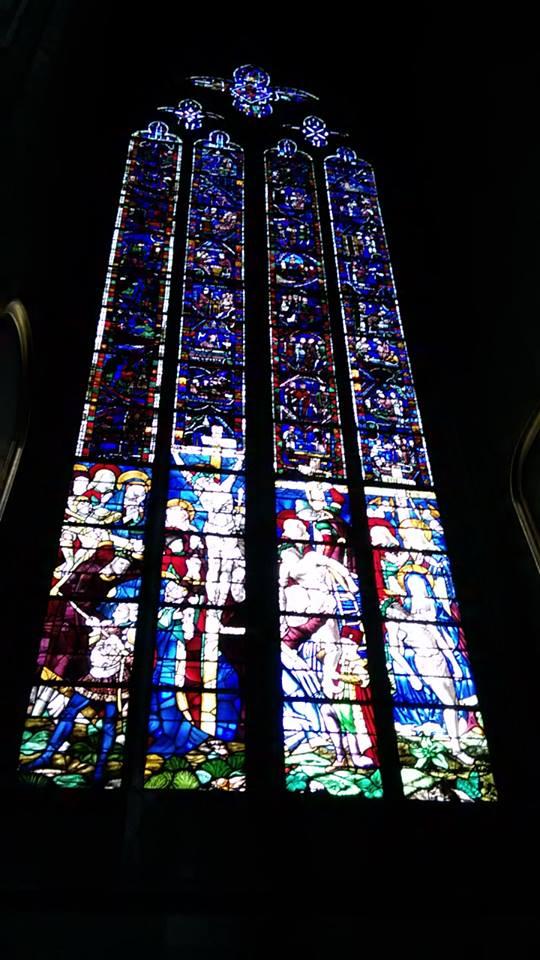 rouen catedrala vitrage