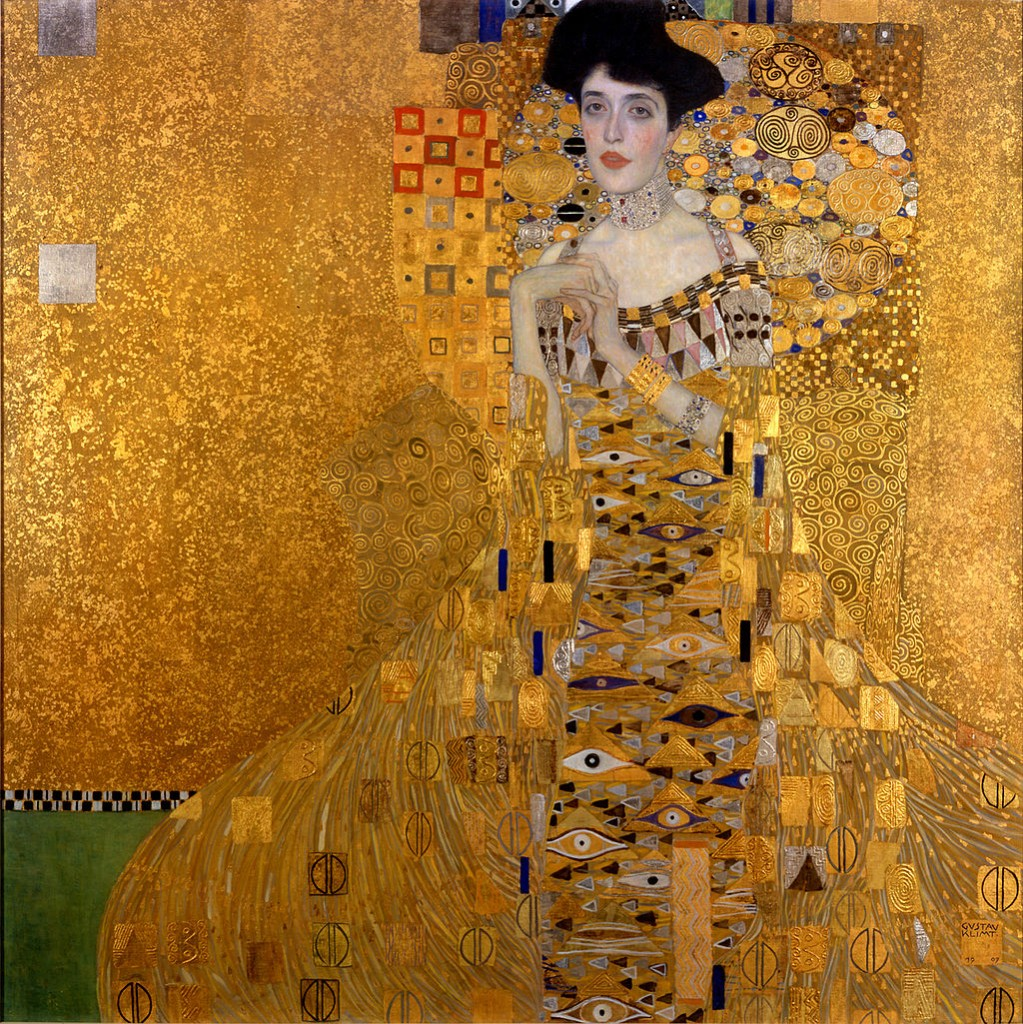 Gustav_Klimt_Portrait of Adele Bloch-Bauer I