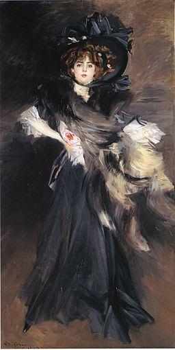 Portrait of Geneviève Lanthelme - Giovanni Boldini