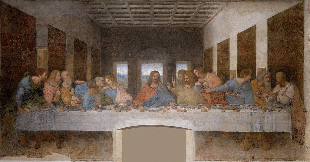 """""""Тайната вечеря"""" на Леонардо да Винчи"""