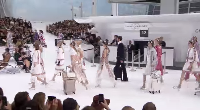 chanel airlines 15