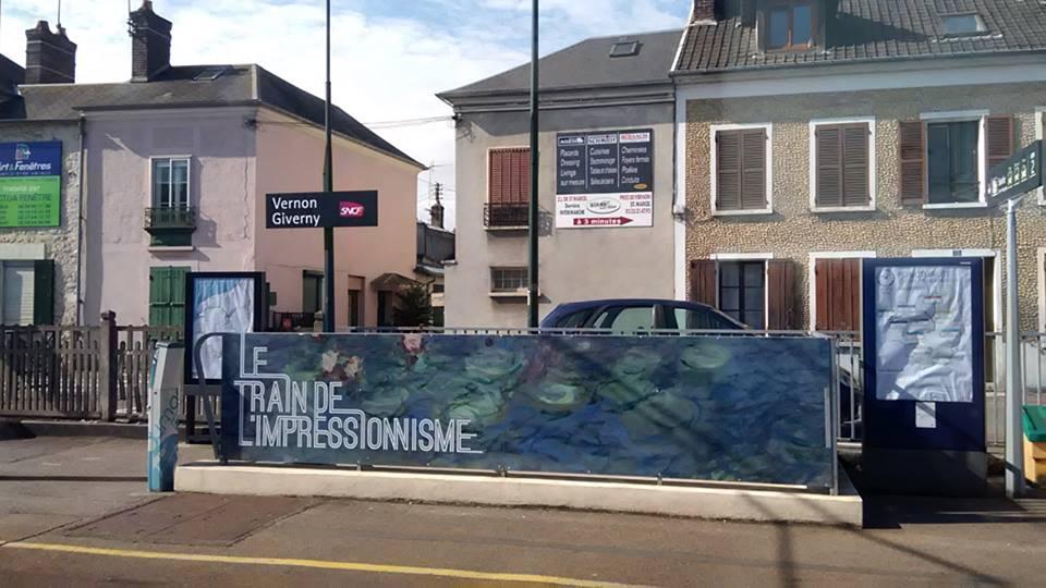 Гарата в Живерни, Франция