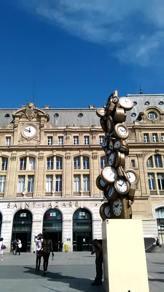 """Гара """"Сен Лазар"""", Париж"""