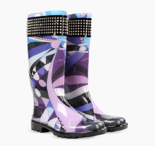 Pucci rain boots източник: emiliopucci.com
