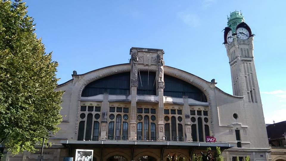 ЖП гарата в Руан