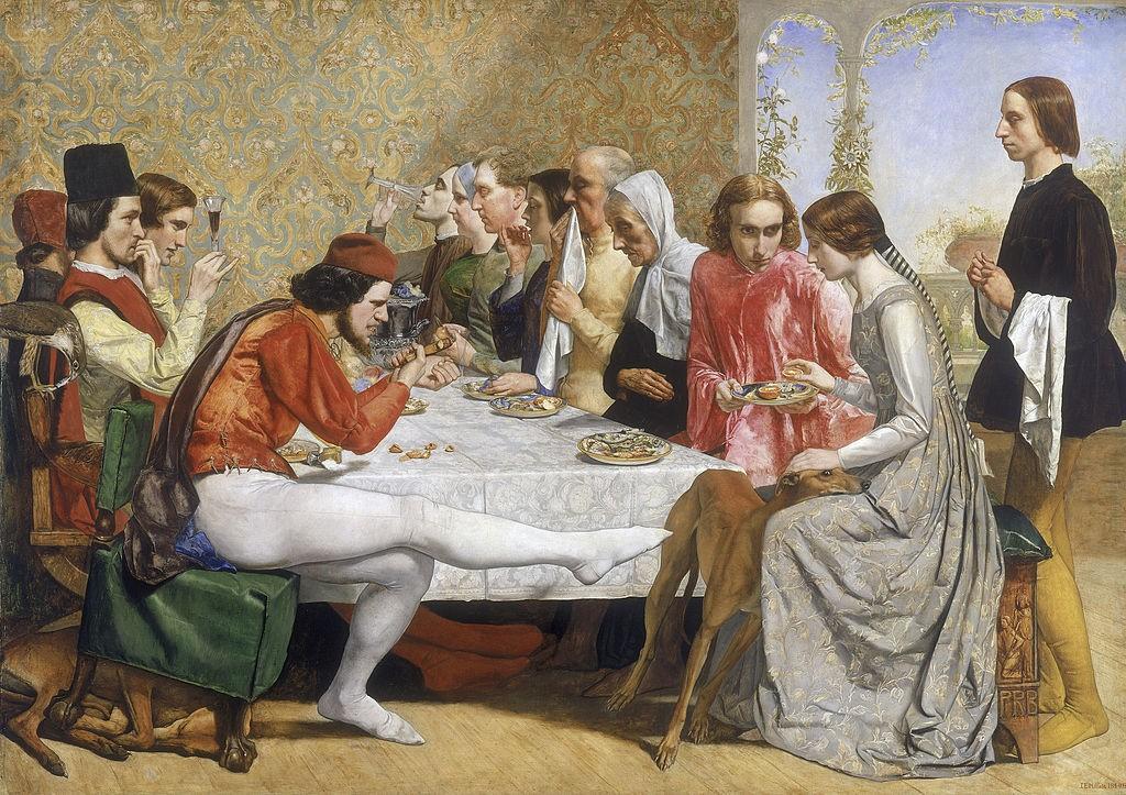 Isabella (1849) - John Everett Millais