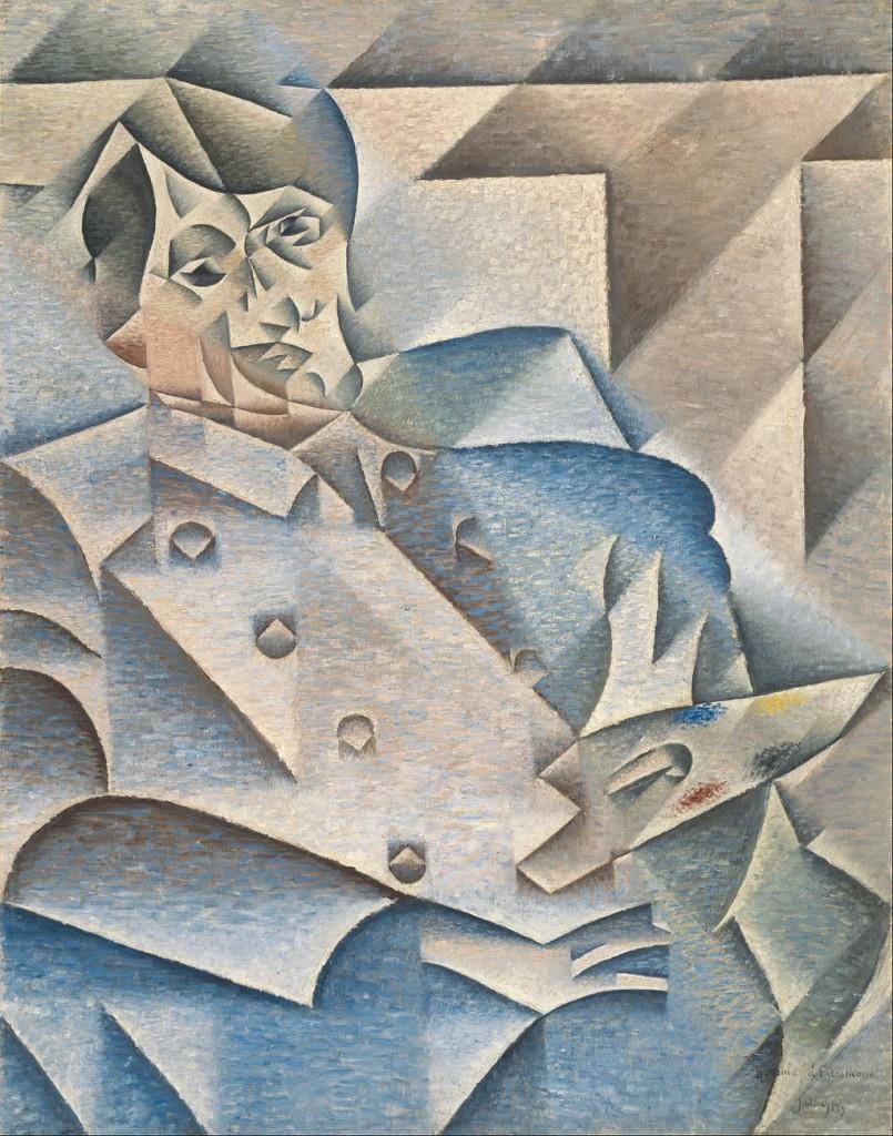 Juan Gris - Portrait of Pablo Picasso