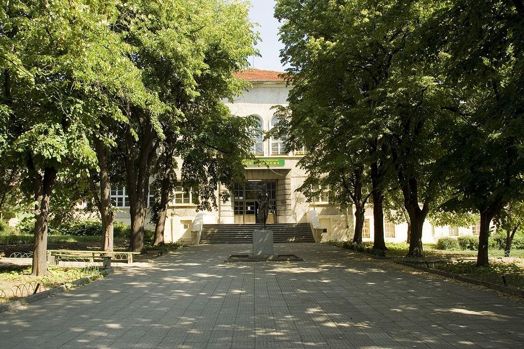 """ПМГ """"Нанчо Попович"""", Шумен източник: Уикипедия"""