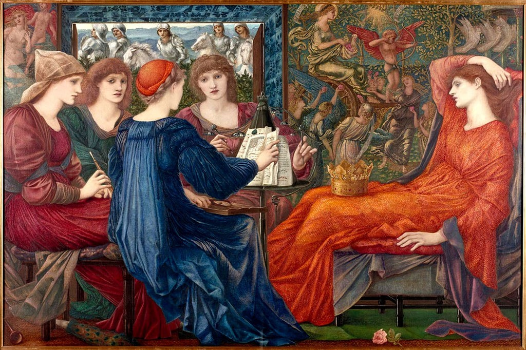 Laus Veneris, Edward Burne-Jones