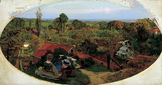 An English Autumn Afternoon (1852-1853), Ford Madox Brown