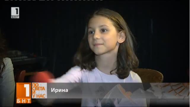 """Ирина Атанасова в """"Малките репортери на БНТ"""""""