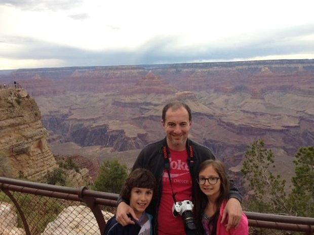 Grand Canyon with uncle