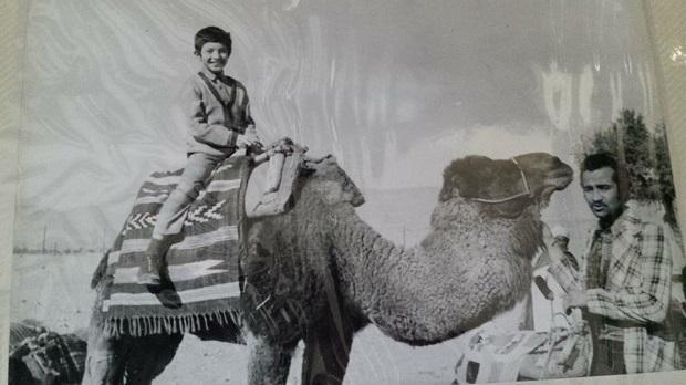 Росен Миланов в Сахара  (1975)