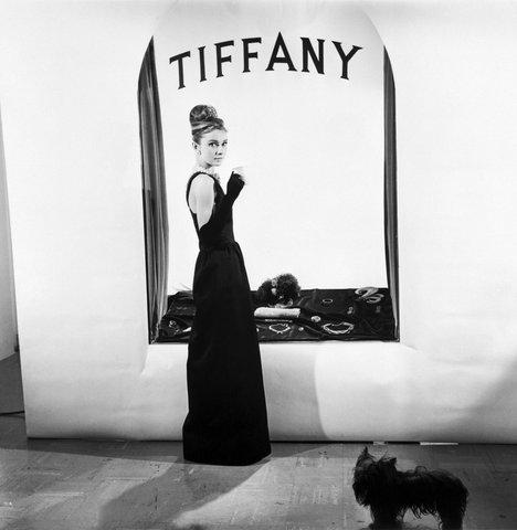 "Одри Хепбърн и ""Закуска в Тифани"";  източник: Vogue"