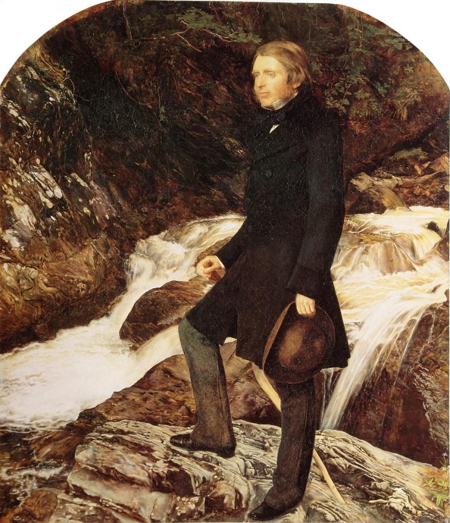 Джон Ръскин (1853–54)  художник: Джон Миле