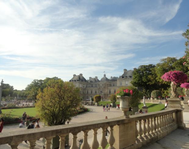 Люксембургската градина в Париж