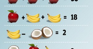 math zadacha apples