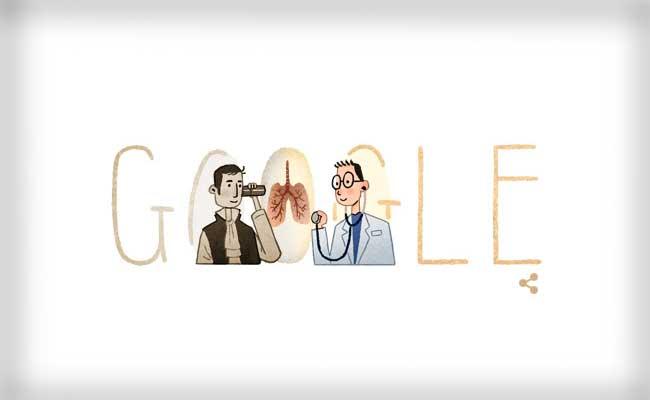 rene laennec google doodle