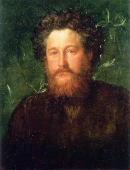 Портрет на Уилям Морис (1870) от Джордж Фредерик Уотс