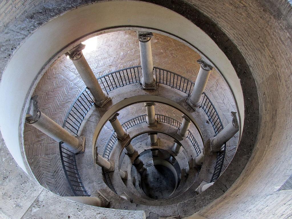 Стълбището на Донато Браманте във Ватикана