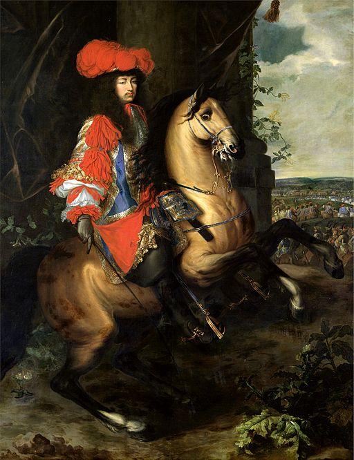 Луи XIV художник: Шарл льо Брюн