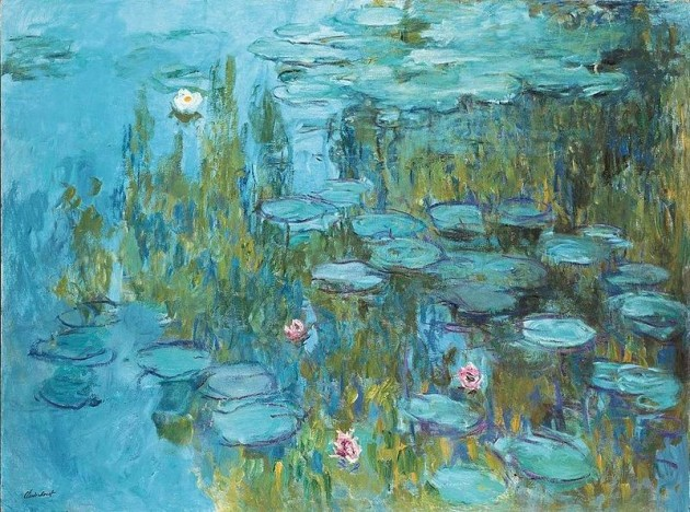 claude monet lilii