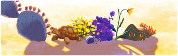 google doodle aerth 5