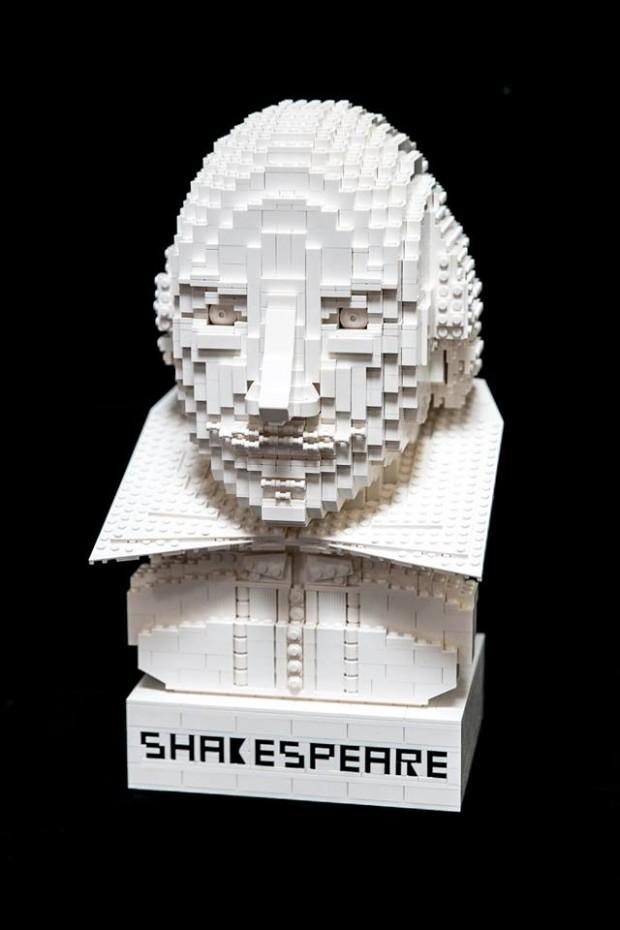 lego Shakespeare figura