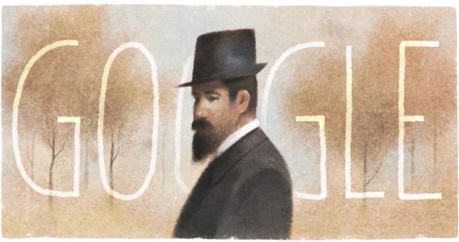 pencho-slaveykovs-150th-birthday-google doodle