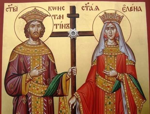 sveti  Konstantin i Elena
