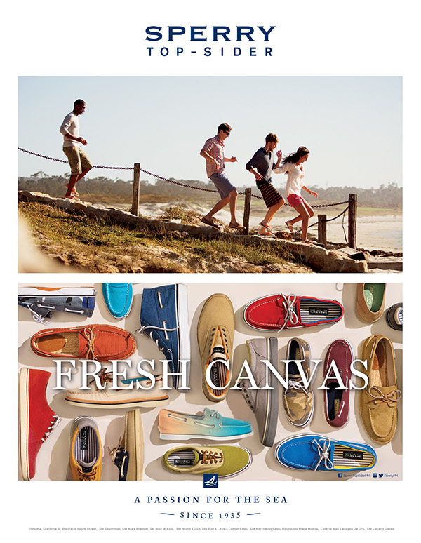 sperry ads