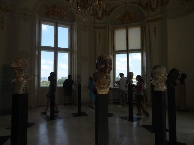 belvedere skulpturi lica