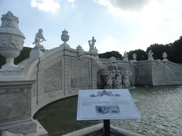 belvedere fontan