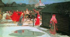 Сватбено пътуване в Москва (1901)