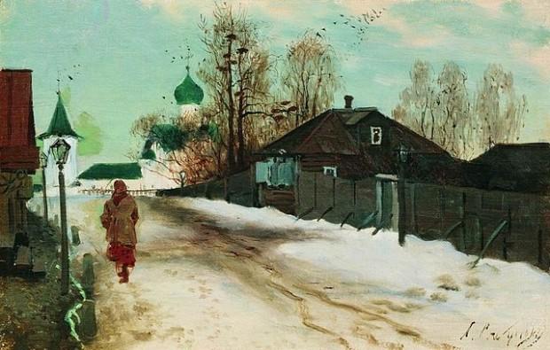 Михайловска улица в Новгород (1899)