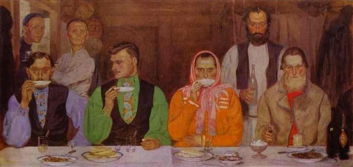 Пиене на чай (1903)